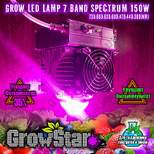 Led светильник Growstar 150W spectrum 7